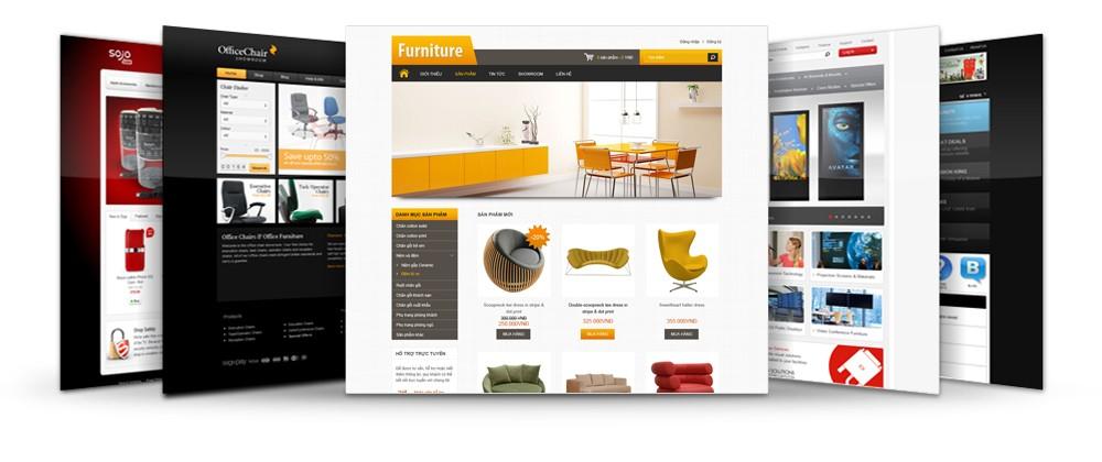 Top 10 thiết kế đẹp cho website bán hàng