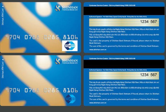 Logo Smartlink trên thẻ của các ngân hàng thành viên