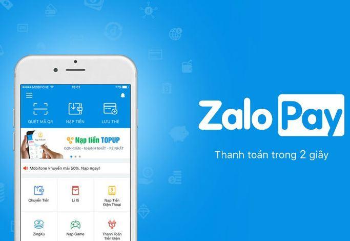 ZaloPay - ứng dụng quen thuộc của người bán hàng online